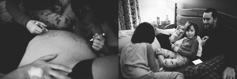 naissance à domicile, naissance dans l'eau, accouchement avec sage-femme, photographe de naissance